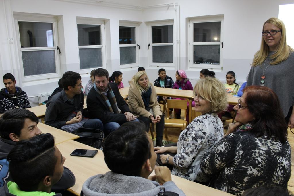 SDC, UNICEF i MPNTR u poseti Društvenim centrima